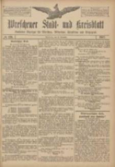 Wreschener Stadt und Kreisblatt: amtlicher Anzeiger für Wreschen, Miloslaw, Strzalkowo und Umgegend 1907.11.19 Nr138