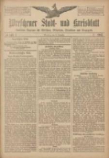 Wreschener Stadt und Kreisblatt: amtlicher Anzeiger für Wreschen, Miloslaw, Strzalkowo und Umgegend 1907.11.28 Nr142