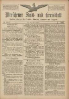 Wreschener Stadt und Kreisblatt: amtlicher Anzeiger für Wreschen, Miloslaw, Strzalkowo und Umgegend 1907.12.03 Nr144