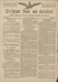 Wreschener Stadt und Kreisblatt: amtlicher Anzeiger für Wreschen, Miloslaw, Strzalkowo und Umgegend 1907.12.05 Nr145