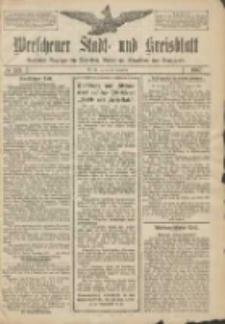 Wreschener Stadt und Kreisblatt: amtlicher Anzeiger für Wreschen, Miloslaw, Strzalkowo und Umgegend 1907.12.24 Nr153