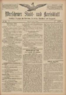 Wreschener Stadt und Kreisblatt: amtlicher Anzeiger für Wreschen, Miloslaw, Strzalkowo und Umgegend 1907.08.01 Nr91