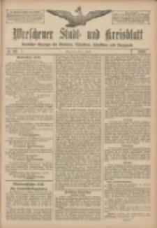 Wreschener Stadt und Kreisblatt: amtlicher Anzeiger für Wreschen, Miloslaw, Strzalkowo und Umgegend 1907.08.03 Nr92