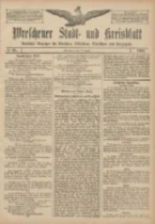 Wreschener Stadt und Kreisblatt: amtlicher Anzeiger für Wreschen, Miloslaw, Strzalkowo und Umgegend 1907.08.17 Nr98