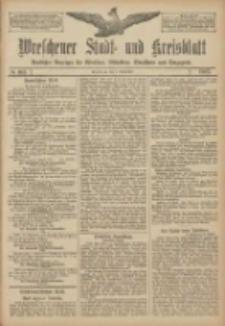 Wreschener Stadt und Kreisblatt: amtlicher Anzeiger für Wreschen, Miloslaw, Strzalkowo und Umgegend 1907.09.03 Nr105