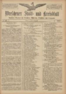 Wreschener Stadt und Kreisblatt: amtlicher Anzeiger für Wreschen, Miloslaw, Strzalkowo und Umgegend 1907.09.10 Nr108