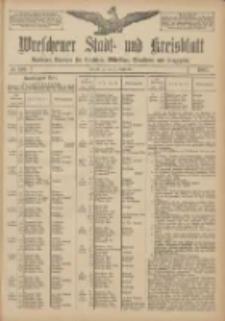 Wreschener Stadt und Kreisblatt: amtlicher Anzeiger für Wreschen, Miloslaw, Strzalkowo und Umgegend 1907.09.12 Nr109