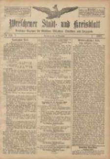 Wreschener Stadt und Kreisblatt: amtlicher Anzeiger für Wreschen, Miloslaw, Strzalkowo und Umgegend 1907.09.14 Nr110