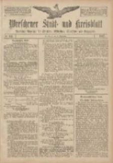 Wreschener Stadt und Kreisblatt: amtlicher Anzeiger für Wreschen, Miloslaw, Strzalkowo und Umgegend 1907.09.24 Nr114