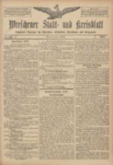 Wreschener Stadt und Kreisblatt: amtlicher Anzeiger für Wreschen, Miloslaw, Strzalkowo und Umgegend 1907.10.05 Nr119