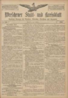 Wreschener Stadt und Kreisblatt: amtlicher Anzeiger für Wreschen, Miloslaw, Strzalkowo und Umgegend 1907.10.08 Nr120