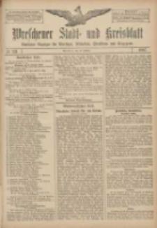 Wreschener Stadt und Kreisblatt: amtlicher Anzeiger für Wreschen, Miloslaw, Strzalkowo und Umgegend 1907.10.10 Nr121