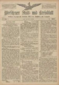 Wreschener Stadt und Kreisblatt: amtlicher Anzeiger für Wreschen, Miloslaw, Strzalkowo und Umgegend 1907.10.31 Nr130