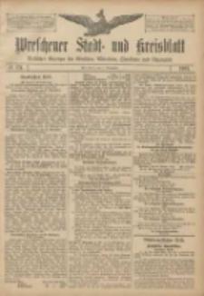 Wreschener Stadt und Kreisblatt: amtlicher Anzeiger für Wreschen, Miloslaw, Strzalkowo und Umgegend 1907.11.02 Nr131