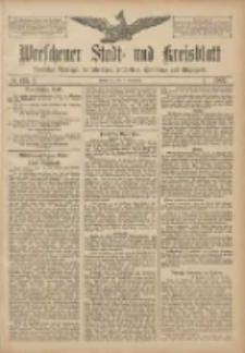 Wreschener Stadt und Kreisblatt: amtlicher Anzeiger für Wreschen, Miloslaw, Strzalkowo und Umgegend 1907.11.07 Nr133