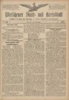 Wreschener Stadt und Kreisblatt: amtlicher Anzeiger für Wreschen, Miloslaw, Strzalkowo und Umgegend 1907.11.23 Nr140