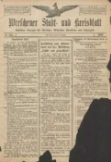 Wreschener Stadt und Kreisblatt: amtlicher Anzeiger für Wreschen, Miloslaw, Strzalkowo und Umgegend 1907.12.30 Nr155