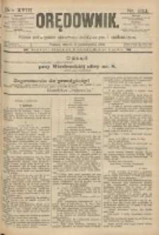 Orędownik: pismo poświęcone sprawom politycznym i spółecznym 1888.10.09 R.18 Nr232