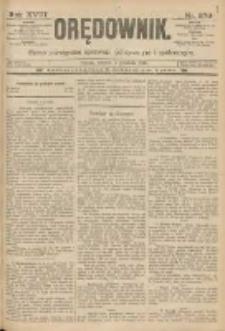 Orędownik: pismo poświęcone sprawom politycznym i spółecznym 1888.12.04 R.18 Nr279