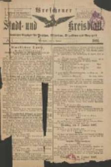 Wreschener Stadt und Kreisblatt: amtlicher Anzeiger für Wreschen, Miloslaw, Strzalkowo und Umgegend 1897.01.06 Nr1