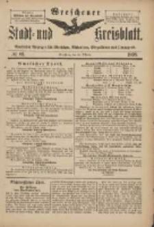 Wreschener Stadt und Kreisblatt: amtlicher Anzeiger für Wreschen, Miloslaw, Strzalkowo und Umgegend 1898.10.26 Nr89