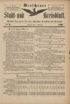 Wreschener Stadt und Kreisblatt: amtlicher Anzeiger für Wreschen, Miloslaw, Strzalkowo und Umgegend 1898.11.12 Nr95