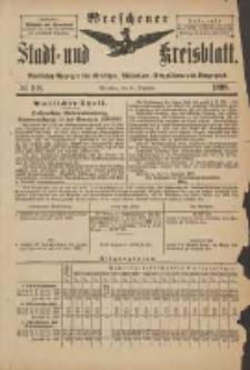 Wreschener Stadt und Kreisblatt: amtlicher Anzeiger für Wreschen, Miloslaw, Strzalkowo und Umgegend 1898.12.28 Nr108