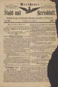 Wreschener Stadt und Kreisblatt: amtlicher Anzeiger für Wreschen, Miloslaw, Strzalkowo und Umgegend 1898.12.31 Nr109