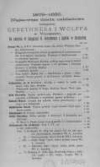 1879-1882. Najnowsze dzieła nakładowe Księgarni Gebethnera i Wolffa w Warszawie