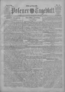 Posener Tageblatt 1906.01.25 Jg.45 Nr41