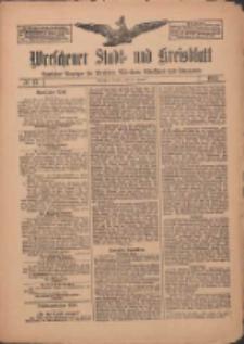 Wreschener Stadt und Kreisblatt: amtlicher Anzeiger für Wreschen, Miloslaw, Strzalkowo und Umgegend 1912.01.30 Nr13