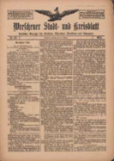 Wreschener Stadt und Kreisblatt: amtlicher Anzeiger für Wreschen, Miloslaw, Strzalkowo und Umgegend 1912.02.20 Nr22
