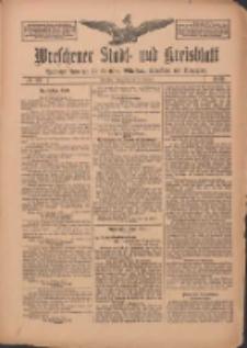 Wreschener Stadt und Kreisblatt: amtlicher Anzeiger für Wreschen, Miloslaw, Strzalkowo und Umgegend 1912.02.22 Nr23