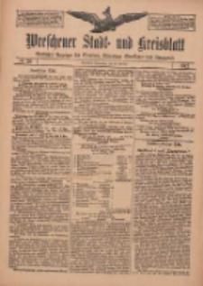 Wreschener Stadt und Kreisblatt: amtlicher Anzeiger für Wreschen, Miloslaw, Strzalkowo und Umgegend 1912.02.29 Nr26