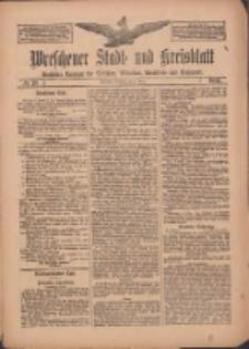 Wreschener Stadt und Kreisblatt: amtlicher Anzeiger für Wreschen, Miloslaw, Strzalkowo und Umgegend 1912.03.05 Nr28