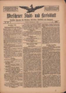 Wreschener Stadt und Kreisblatt: amtlicher Anzeiger für Wreschen, Miloslaw, Strzalkowo und Umgegend 1912.03.07 Nr29