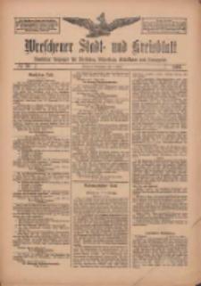 Wreschener Stadt und Kreisblatt: amtlicher Anzeiger für Wreschen, Miloslaw, Strzalkowo und Umgegend 1912.03.09 Nr30