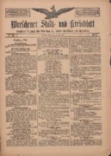 Wreschener Stadt und Kreisblatt: amtlicher Anzeiger für Wreschen, Miloslaw, Strzalkowo und Umgegend 1912.03.21 Nr35