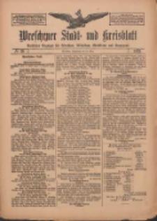 Wreschener Stadt und Kreisblatt: amtlicher Anzeiger für Wreschen, Miloslaw, Strzalkowo und Umgegend 1912.03.23 Nr36