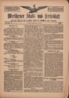 Wreschener Stadt und Kreisblatt: amtlicher Anzeiger für Wreschen, Miloslaw, Strzalkowo und Umgegend 1912.04.04 Nr42