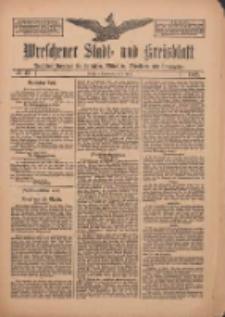 Wreschener Stadt und Kreisblatt: amtlicher Anzeiger für Wreschen, Miloslaw, Strzalkowo und Umgegend 1912.04.06 Nr43
