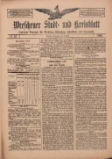Wreschener Stadt und Kreisblatt: amtlicher Anzeiger für Wreschen, Miloslaw, Strzalkowo und Umgegend 1912.04.13 Nr45