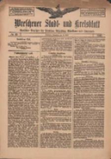 Wreschener Stadt und Kreisblatt: amtlicher Anzeiger für Wreschen, Miloslaw, Strzalkowo und Umgegend 1912.04.20 Nr48