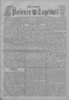 Posener Tageblatt 1906.09.01 Jg.45 Nr409