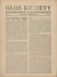 Głos Kobiety 1931.12.03 R.1 Nr5