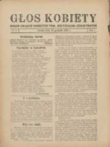Głos Kobiety 1931.12.17 R.1 Nr6