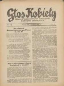 Głos Kobiety 1932.12.01 R.2 Nr23