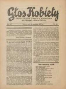 Głos Kobiety 1932.12.29 R.2 Nr25