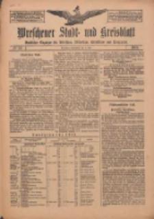 Wreschener Stadt und Kreisblatt: amtlicher Anzeiger für Wreschen, Miloslaw, Strzalkowo und Umgegend 1912.05.04 Nr54