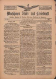 Wreschener Stadt und Kreisblatt: amtlicher Anzeiger für Wreschen, Miloslaw, Strzalkowo und Umgegend 1912.05.14 Nr58